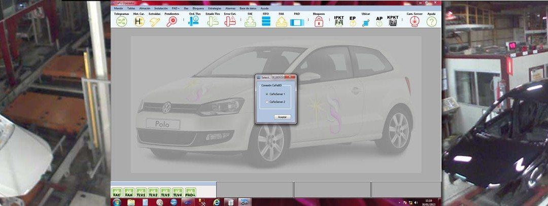 Arranca con éxito el sistema CaFIS para VW Navarra
